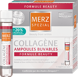 Ampoules buvables collagène